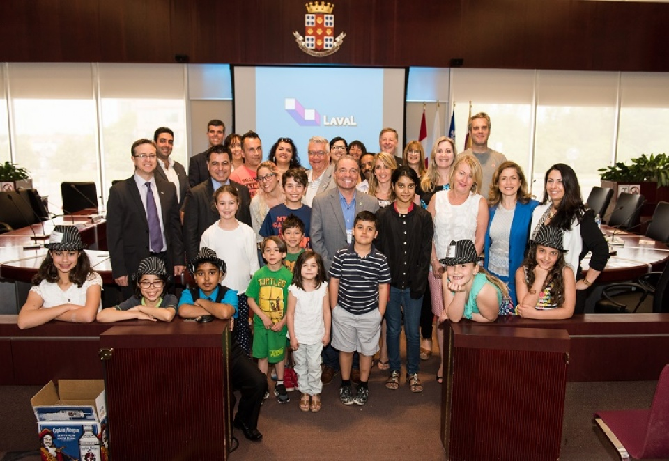 YAC Youth Press Conference: Future Leaders in Action  | Laval Families Magazine | Laval's Family Life Magazine