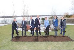 Ground Breaking Ceremony and a New Ambassador for Aquablu Guy Lafleur as New Spokesperson for Greater Montreal's Most Sought- After Address